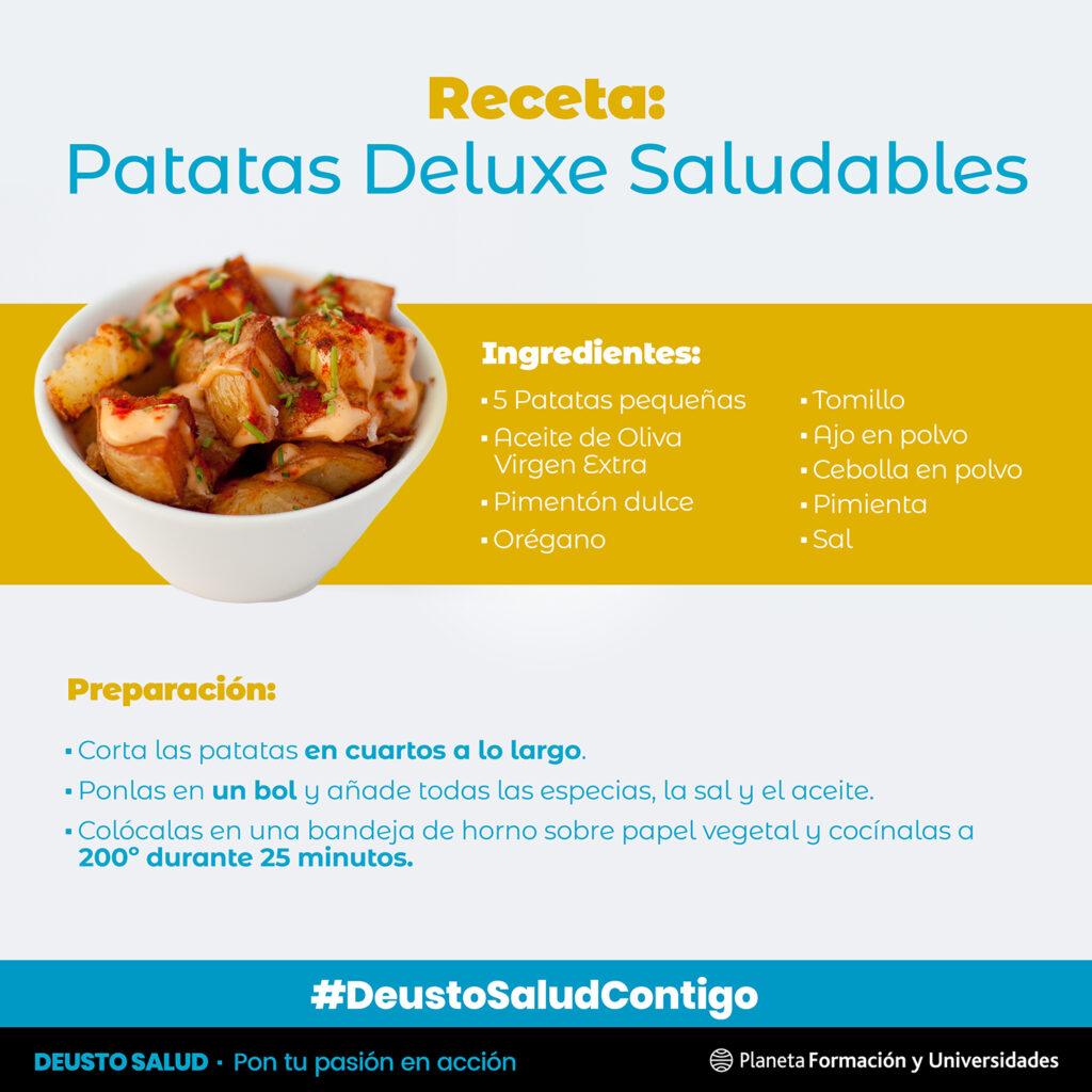 Receta patatas Deluxe
